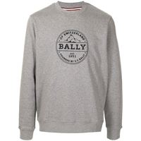 Bally felpa con stampa - grigio
