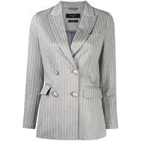 Circolo 1901 blazer gessato - blu