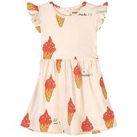 nadadelazos - strawberry ice cream vestito beige - bambina - 4 anni - beige