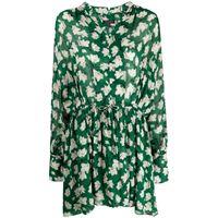 Rag & Bone vestito a fiori carly - verde
