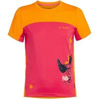 Vaude maglia a manica corta solaro ii bambino pink