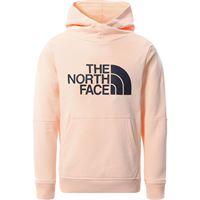 The North Face felpa con cappuccio dreaw peak 2.0 bambino pink