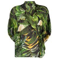 LIU JO blusa con stampa - verde