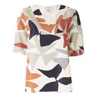 Alcaçuz blusa wilma con stampa - multicolore