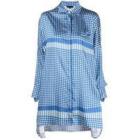 Jejia camicia a quadri oversize - blu
