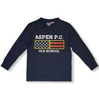 Aspen polo club - t-shirt manica lunga manica bambino