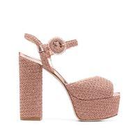 Le Silla sandali a punta aperta - rosa