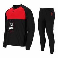 A.C. Milan pigiama da uomo primaverile a. C. Milan 14105 prodotto ufficiale