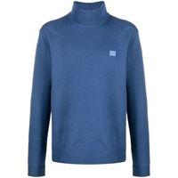 Acne Studios maglione a collo alto - blu