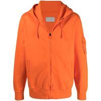 A-COLD-WALL* felpa con cappuccio - arancione