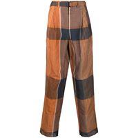 Lemaire pantaloni a gamba ampia - arancione