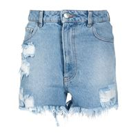 GCDS shorts con effetto vissuto donna
