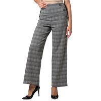 Officina della Moda pantaloni ampi in viscosa fantasia