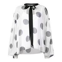 Sachin & Babi delia polka-dot blouse - bianco
