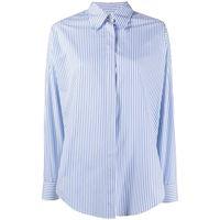 Alberto Biani camicia a righe - blu