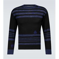 Maison Margiela pullover in lana e lino