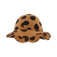 nadadelazos - leopard skin cappello da sole marrone - unisex - 2 anni - marrone