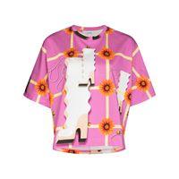 LOEWE t-shirt con stampa - rosa