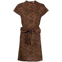 Roseanna abito con stampa - marrone