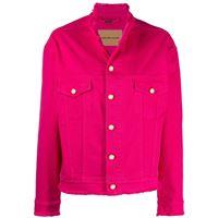 Alexandre Vauthier giacca denim - rosa