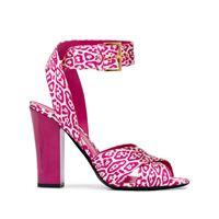 TOM FORD sandali leopardati - rosa