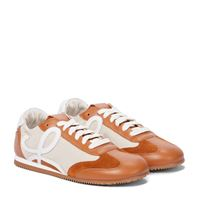 LOEWE sneakers ballet runner in pelle e canvas