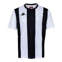 Kappa caserne ss maglietta da bambino, bianco/nero, 8y