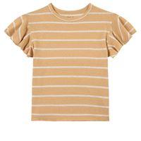 Play Up - stripe jersey t-shirt straw - bambina - 3 anni - giallo