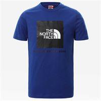 The North Face t-shirt box tee bolt blue da bambini