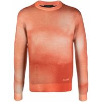 Alanui maglione dusty road - arancione