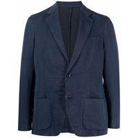 Altea blazer monopetto aderente - blu