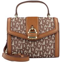 DKNY ella mini bag borsa a mano 18 cm marrone