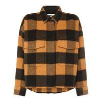 MM6 MAISON MARGIELA giacca in misto lana check