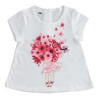 Ido t-shirt manica corta stampata 4.2747 bambina ido