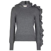 Alexander McQueen pullover in lana e cotone