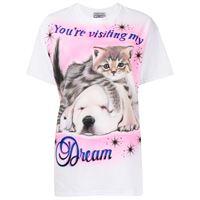 Ashley Williams t-shirt con stampa - bianco