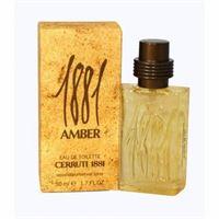 Cerruti 1881 amber eau de toilette 50ml spray nuovo blisterato by nino cerruti