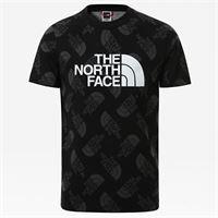 TheNorthFace the north face t-shirt a maniche corte bambini easy tnfblk/tnfblktsdlogoprint taglia l donna