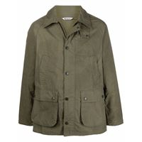 Barbour giacca slim bedale - verde