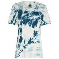 Come Back As A Flower t-shirt con fantasia tie dye - blu