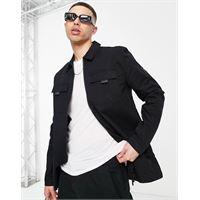 Lyle & Scott - giacca con zip-nero