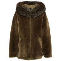 BLANCHA giacca reversibile in shearling con pelliccia