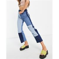 Whistles - jeans in patchwork blu in coordinato
