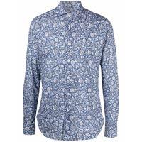 Orian camicia a fiori - blu