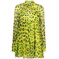 Philipp Plein abito con stampa - verde