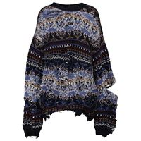 Balenciaga pullover distressed in lana
