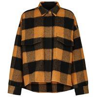 MM6 Maison Margiela giacca in misto lana a quadri