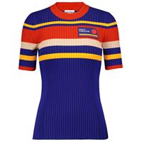 Paco Rabanne t-shirt in misto cotone a righe