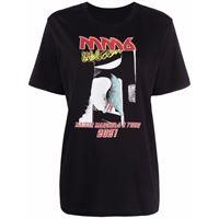 MM6 Maison Margiela t-shirt con stampa - nero