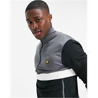 Lyle & Scott - sport - giacca sportiva con zip corta-nero